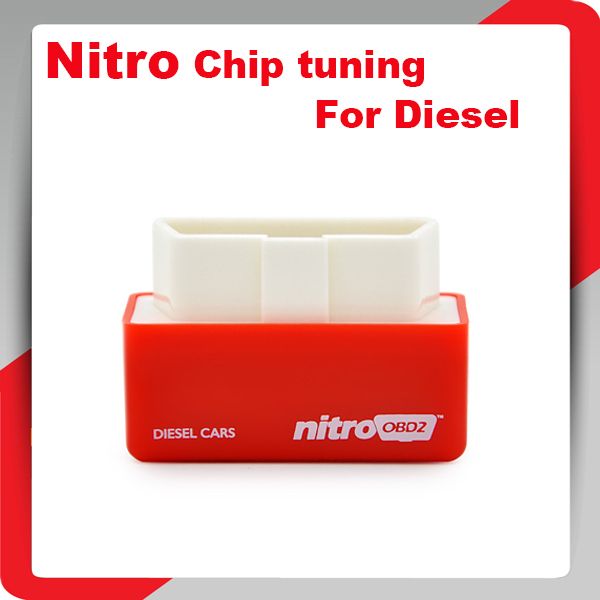 2015 New Arrival NitroOBD2 Plug and Drive OBD2 Chip Tuning Box Performance for Diesel Cars NitroOBD2 Fuel Optimization tool(China (Mainland))
