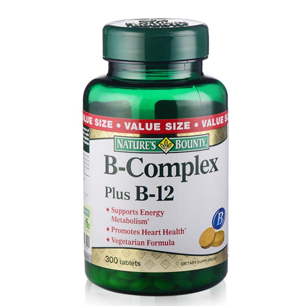 American origin B-Complex Vitamins and B12, 300 Tablets(China (Mainland))