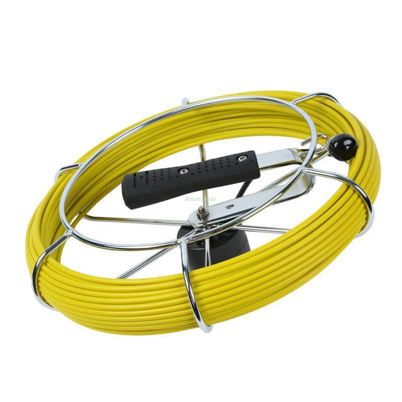 20M Cable Diameter 5mm Pipe Inspection Sewer Video Snake Plumbing Pumps Tool Wire Cable with NO Camera(China (Mainland))