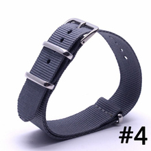 Buy Top Brand Luxury Men Watch Band Straps 16 18 22 24mm Blue bracelet Nato fabric Nylon watchbands Strap Bands Buckle belt for $2.82 in AliExpress store