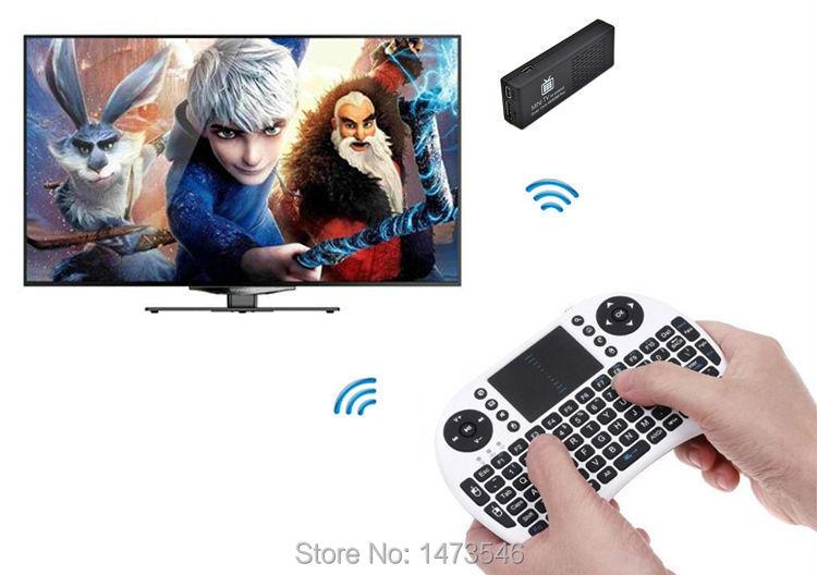 MK 808 android smart tv box mk808b plus tv dongle hdmi wifi quad core mk808b mini pc android tv box h.265 decode miracast usb(China (Mainland))
