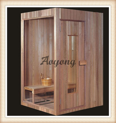 Latest design, modern style and multifunctional Solid wooden sauna room,OYAT 8623(China (Mainland))
