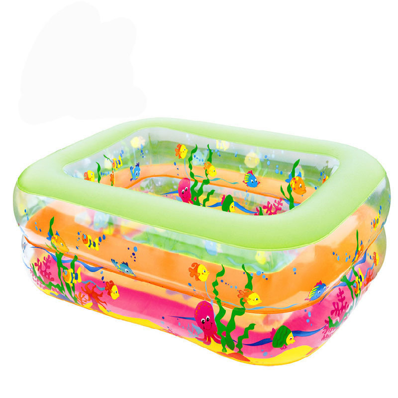 Bathroom Cartoon Family Center Inflatable Swimming Pool Child Baby Kids Infant Bath Tub Corlorful Baby Swimming Pool 2 size(China (Mainland))