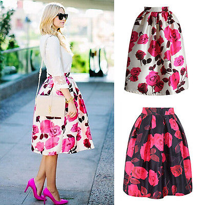 Images of Womens Flared Skirts - The Fashions Of Paradise