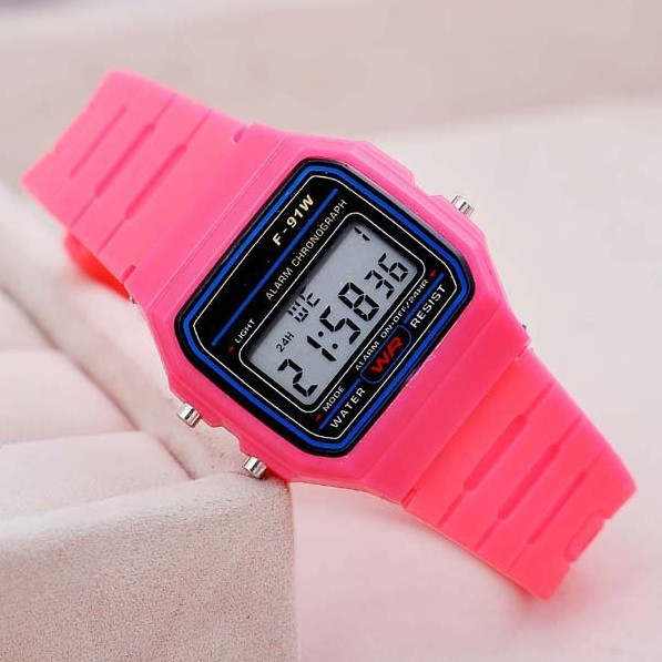 Wholesale Electronic LED Watch Women Watches New Fashion Casual Silicone Band Digital Wristwatches Jelly Watches Alarm Black(China (Mainland))
