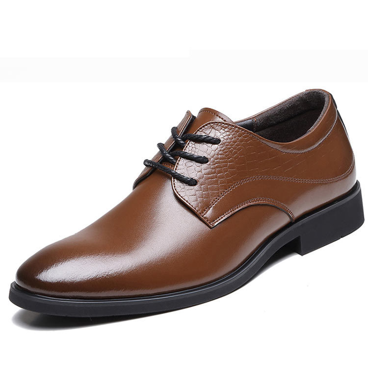 cow genuine leather shoes for office shoes dress