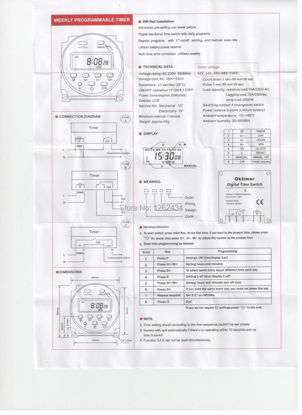 aliexpress com  compre interruptor tempo temporizador