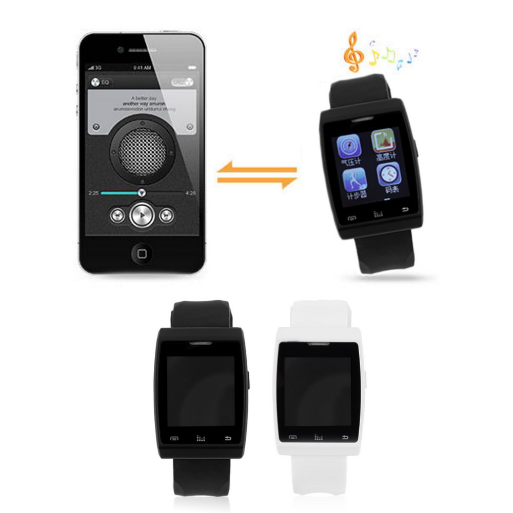 Waterproof Touch Screen Bluetooth Smartwatch Smart Watch For Android Phone Smartphones Android Wear