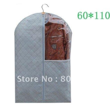 (110*60cm) dustproof, mothproof, moistureproof,Bamboo Charcoal Non-woven fabric suit cover,big size garment bag
