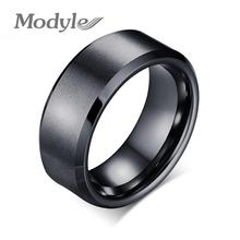 Modyle Мода Золото/Черный/Посеребренные Кольца 8 мм Широкий Мужчин Tungsten Обручальные Кольца Ювелирные Изделия Достойного Tungsten Carbide кольца(China (Mainland))