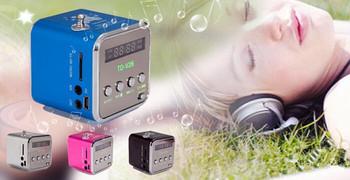 Микро-sd TF mp3-спикер музыки USB портативный FM радио стерео мини mp3-плеер для пк