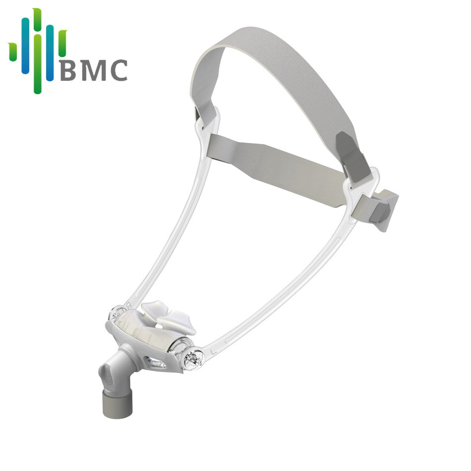 BMC WNP Nasal Pillows CPAP Mask Hot Selling S/M/L All In Silicone Gel Material With Belt For Snoring And Apnea Free Shipping