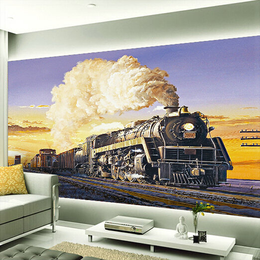 custom any size 3d wall mural stereoscopic wallpaper