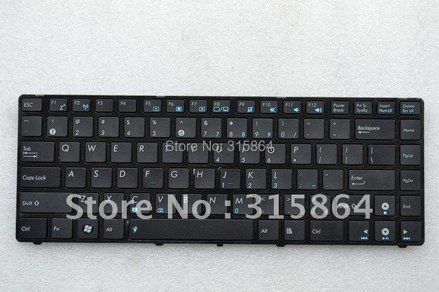 New For Laptop Keyboard ASUS A42 N82 X42J K42 K42J A42JC US layout Black NSK-UC601