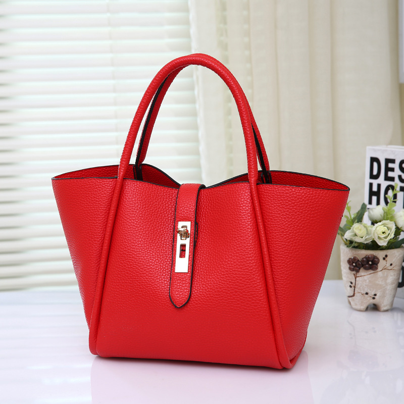 2016 Summer Ladies Big Handbags Women Famous Brands Soft High Quality Pu Leather Casual Tote Shoulder Bags 13 Colors Spanish(China (Mainland))