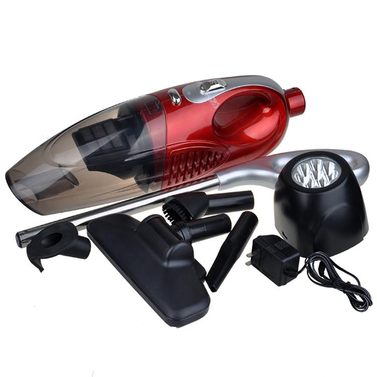 newest 220V 80W Vacuum cleaner with dry wet amphibious rechargeable car, with optional LED flashlight,Powerful Vacuum Cleaner
