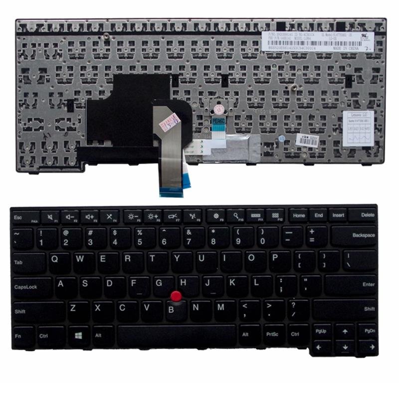 100%NEW Keyboard for Lenovo IBM Thinkpad E450 E455 E450C T450 W450  US laptop keyboard<br><br>Aliexpress