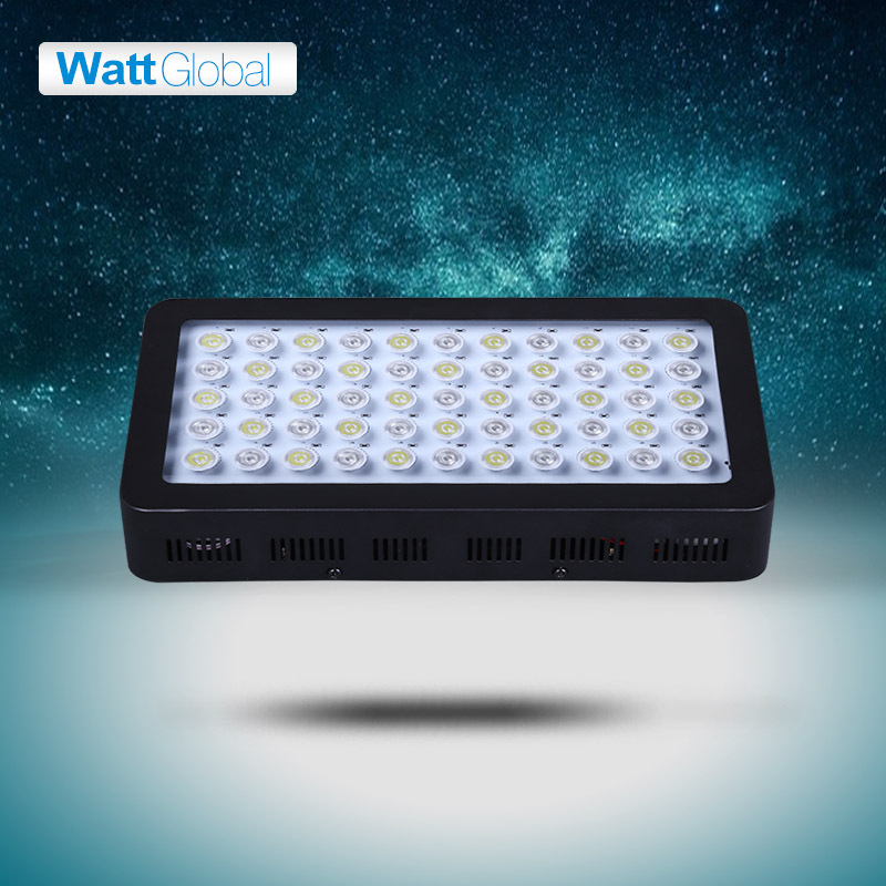 1Units Dimmable led aquarium light 165W moonlight design Royal Blue Led,Aquarium Lamp marine tank lamp(China (Mainland))