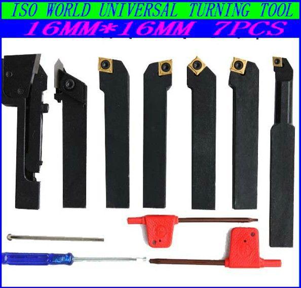 Plating titanium carbide /16MM*16MM CNC turning tool kits set,lathe kit cutting blade,cutter - ZHEJIANG RYAN TRADING store