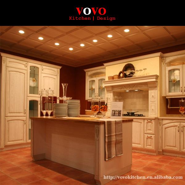 Lujo Americana Casa Isla De Cocina De Roble Imagen - Ideas para ...