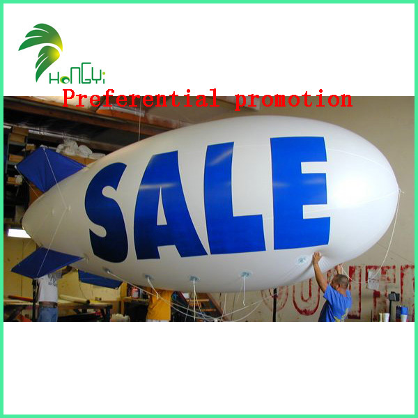 Free shipping to retail and wholesale customizable 6m PVC inflatable blimp(China (Mainland))