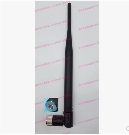 25 pcs lot free shipping GSM 1.2G 1.5G 433MHZ 315MHZ 868MHZ 915MHZ 2.4GMHZ 4G 5dbi Nickel-plated SMA antenna(China (Mainland))