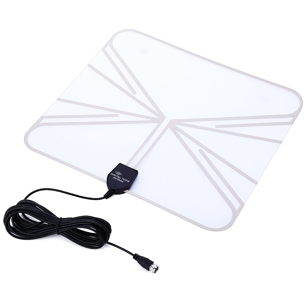 TRANSPARENT JY001 Indoor HD TV / HD Satellite / US ATSC Antenna Effective Distance 35 Miles 5dBi compatible with HDTV(China (Mainland))