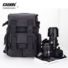 Buy CADeN Waterproof Canvas Camera Bag M5 Backpack Photo Video Digital Camera Case DSLR Canon Nikon D5200 D3100 D80 D90 60D 70D for $62.30 in AliExpress store