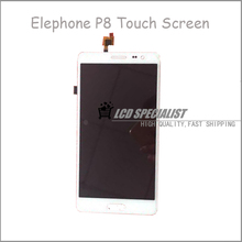 5.7″ Inch White Original For Elephone P8 LCD Display+Touch Screen Digitizer Full  Assembly Repairment
