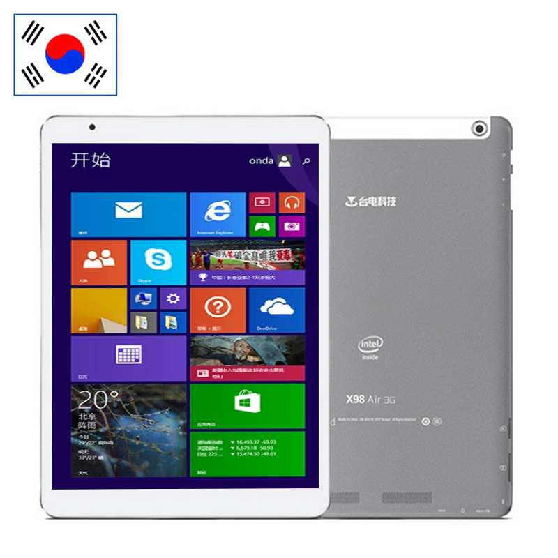 9.7 inch Retina Teclast X98 Air Dual Boot Tablet PC Android 4.4 Windows 10 2GB+64GB Z3735F Quad Core GPS 3G Phone - CHUWI Authorized Store store