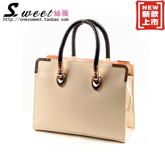 2013 women's fashion handbag new arrival shoulder bag dinner brief women's bags laptop messenger bag