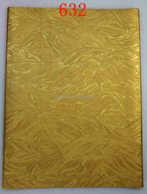High quality african SEGO Headtie Gele Head Wrapper.2in1,2pcs/set/dag. No.ITT632 Color.GOLD(China (Mainland))