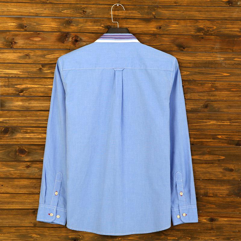 2015 men cotton shirt spring autumn long sleeve casual shirt men brand quality formal dress shirts