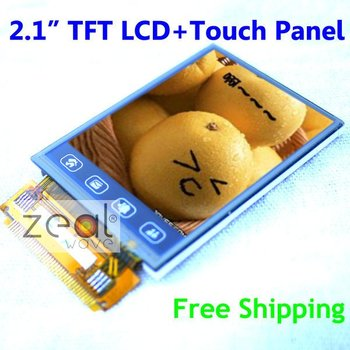 """2.1"""" inch TFT LCD Display Module + Touch Panel 176 x 220 dots"""