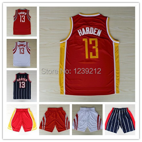 Fast Free Shopping Houston #13 James Harden New Rev 30 Basketball jersey,Embroidery logos,Athletic jersey,Shirt And Shorts(China (Mainland))