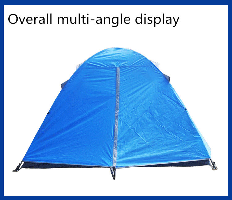 Good quality 2 person 4 season outdoor camping tent ...