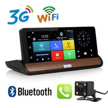 7 inch 3G GPS WiFi Hotspot Android 5.0 Dashboard GPS Navigation Dual Lens DVR FHD 1080P Bluetooth 1GB RAM Rear View Camera DVR(China (Mainland))