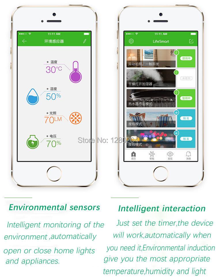 image for Smart Home LifeSmart Care Kit, Wifi Wireless HD 720P IP Camera+Smart C