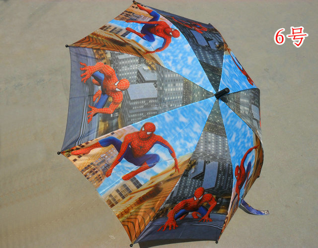 Free shipping ccartoon series lovely children's umbrella for rain kid umbrella automatic