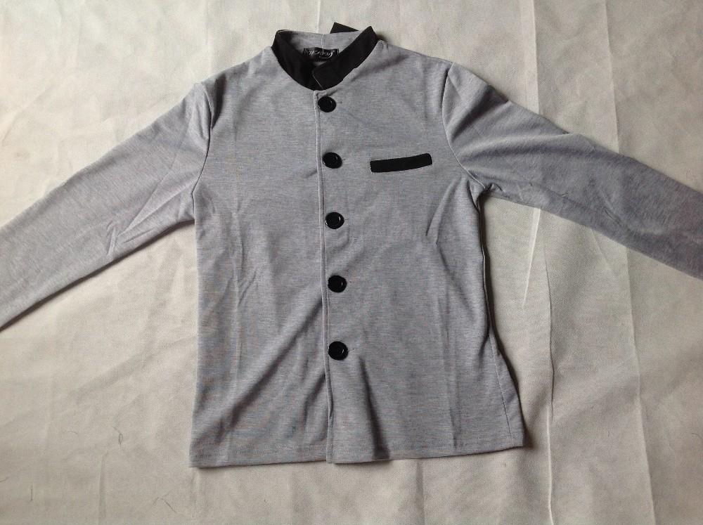 HTB1sDAgNXXXXXX9XpXXq6xXFXXXE - Fashion Brand Men's spell color Collar Slim Fit Blazer Suits (without Shirt and Tie) (Asia Size)