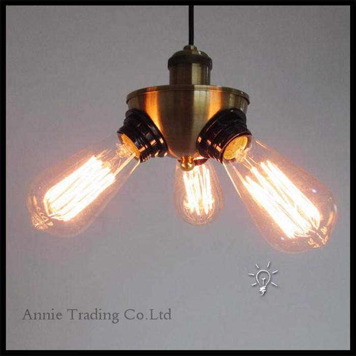100-240V Art Deco Creative copper pendant lights illumination,decoration lamps loft minimalist luminarias pendente fixture(China (Mainland))