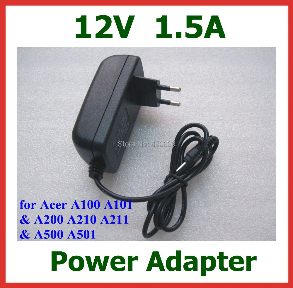 12V 1.5A Tablet Battery Charger Acer Iconia Tab W3 W3-810 Switch10 A100 A200 A210 A211 A500 A501 lenovo Miix 10 Miix2 - Billy Zeng store
