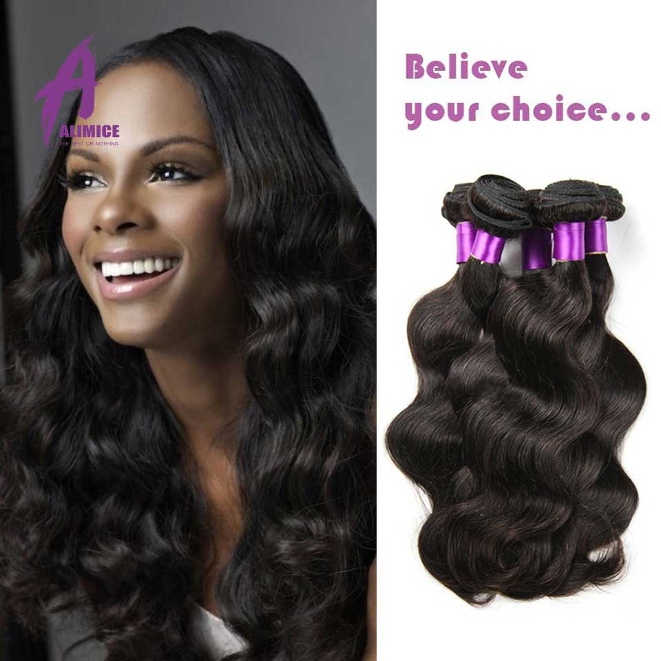 4 Bundles Indian Virgin Hair 100% Unprocessed Virgin Indian Hair Body Wave Human Rose Hair Products Wholesale Price Remy Queen(China (Mainland))