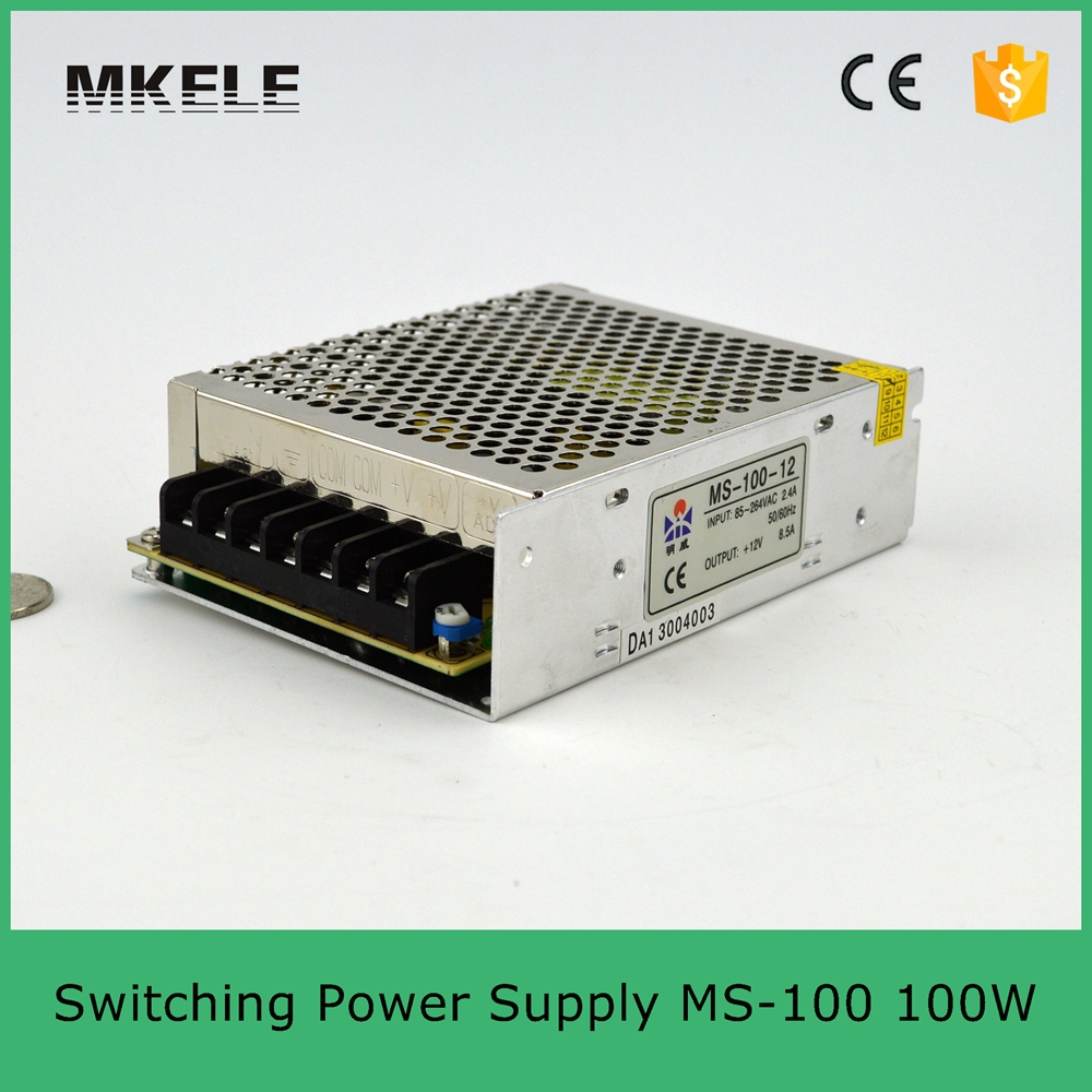 hot sale 100w led power supply MS 100 5 20A 100W smps mini size switching power