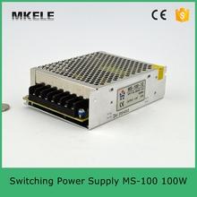 100 W из светодиодов электропитание питания мс-100-5 20A 100 W smps mini размер переключение электропитание питания с широкий переменный ток диапазон сделано в китай
