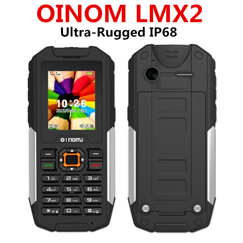 2015 unlocked LMX2 Waterproof mobile phone SOS GSM Quad Band Senior old Man Shockproof arabic JCB ZUGS H1 S6 L8 L6 h3 x1 m18 f8(China (Mainland))