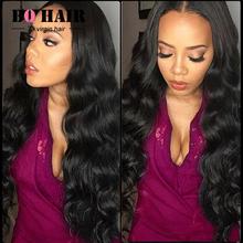 BQ Hair Products Brazilian Virgin Hair Weave 4 Bundles 7A Brazilian Body Wave Human Hair Extension Soft & Healthy #1B(China (Mainland))