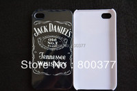 1Pcs Only, Jennessee Whiskey, Hard Back Cover Case for iphone 4 4S, Best For iphone 4S Case, Fashion Phone Case