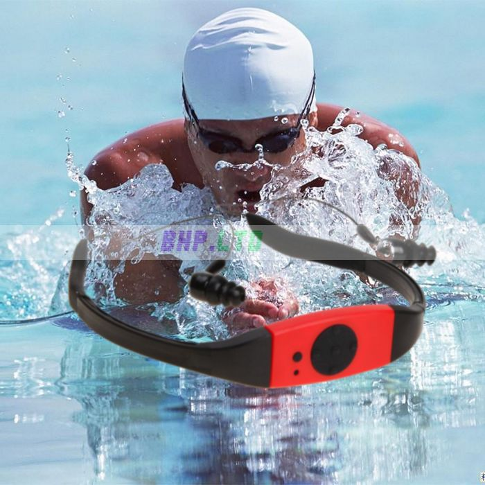 4GB Waterproof mini MP3 music Player FM Radio Swimming Surfing SPA IPX8 Sports mp3(China (Mainland))