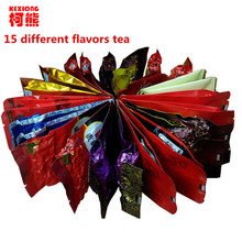 Promotion 15 Different flavors Tea Chinese Oolong\PuEr\Black\Green\Milk Oolong\Ginseng\flower\Buckwheat\Liver Tea(China (Mainland))